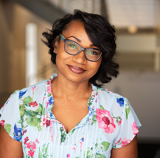 Photo of peer coach Zenisha Gibson