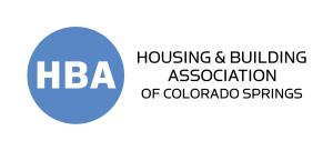 Logo for the Housing and Building Association of Colorado Springs